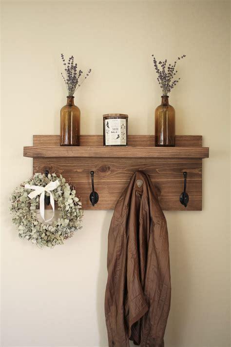entryway coat rack rustic wooden entryway coat rack rustic wooden shelf