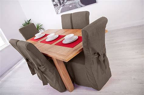 dining chair seat protectors set of 4 set of 4 slate grey fabric dining chair covers for scroll