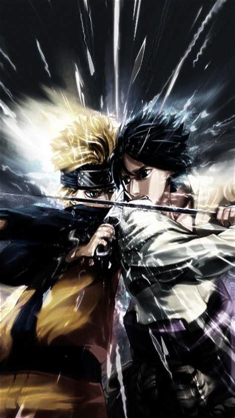 Naruto VS Sasuke HD iPhone Wallpapers, iPhone 5(s)/4(s)/3G