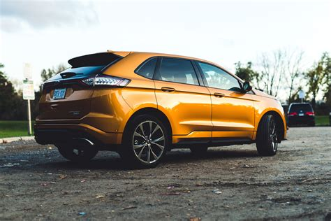 ford edge rs review 2015 ford edge sport canadian auto review