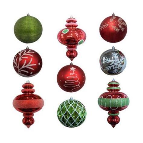 shatterproof ornament set 9 piece hg34 dx935 the home