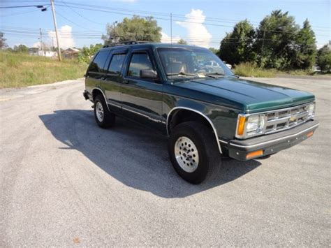 best car repair manuals 1994 chevrolet s10 blazer navigation system 1994 chevy s10 blazer 4x4 lt loaded excellent condition must see