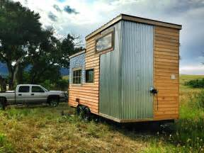 Corrugated Steel Interior Design Beautiful Modern Tiny House Swoon