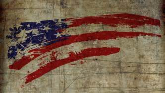 vintage american flag wall art
