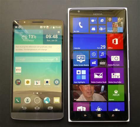 lumia 1520 vs lg g3 head to head nokia lumia 1520 and lg g3