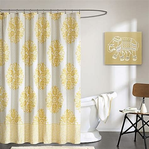ivy shower curtain ink ivy melbourne printed shower curtain bed bath beyond