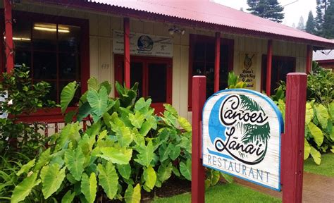 canoes lanai maui now unique lāna i restaurants keep diners coming back