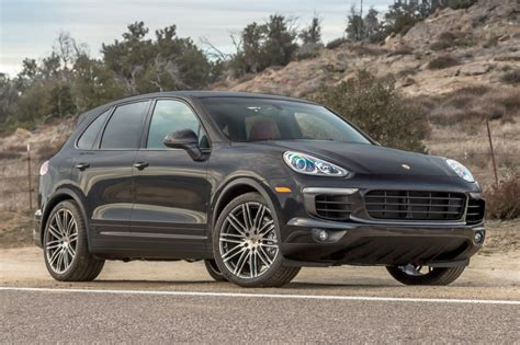 porsche suv 2015 black used 2015 porsche cayenne for sale pricing features