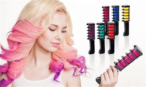 chalk hair color hair chalk comb shimmer temporary hair color 6pcs