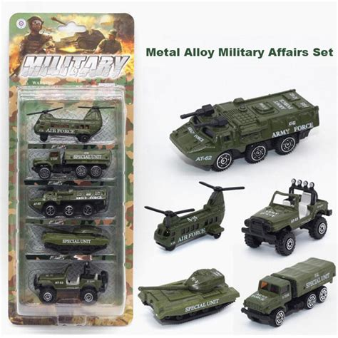 5pcs Set 1 64 Diecast Army Cars Tank Model Vehicle Toys For 1 64 diecast cars metal alloy model toys mini affairs series toys for children