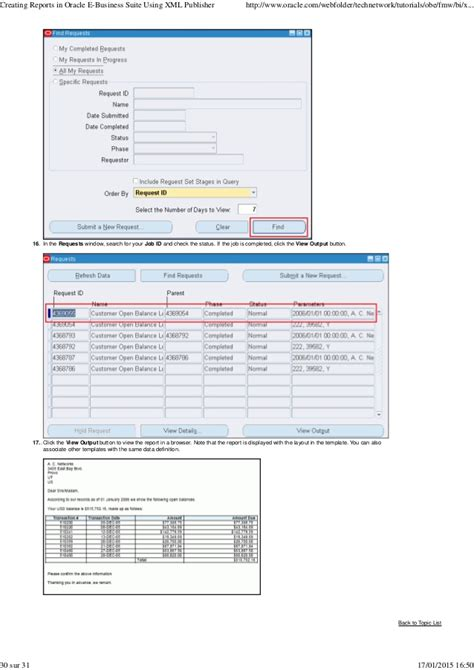 multi layout report xml publisher oracle creating reports in oracle e business suite using xml