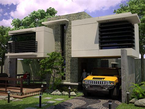 desain rumah garasi dibawah 45 model garasi mobil minimalis modern dan unik