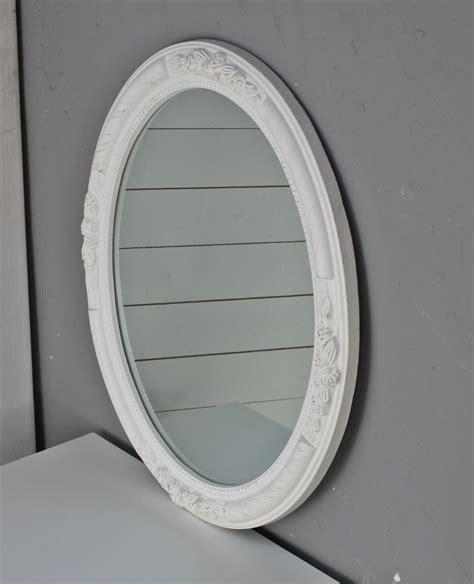 spiegel weiss holz spiegel antik spiegel antik weiss wandspiegel spiegel oval neu wei 223 holz verzierungen barock