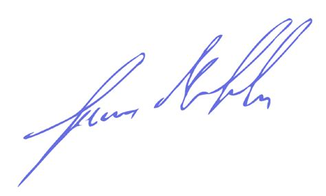 Signature by Obama Signature Png