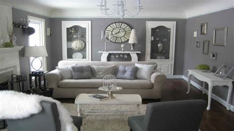 cream and grey living room modern house