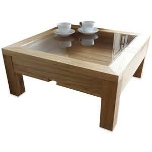 Display Coffee Table Display Coffee Table Glass Wood Solid Oak Modern Square Uk
