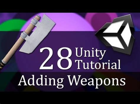 unity tutorial save game 28 unity tutorial adding weapons create a survival