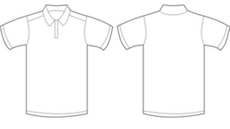 Kaos Pocket 02 Black polo shirt white clip at clker vector clip