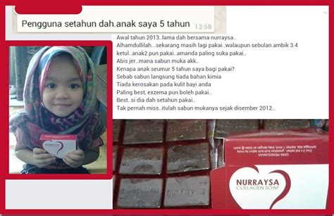 Sabun Nuraysa by Testimoni Ajaib Sabun Collagen Nurraysa Nurraysa