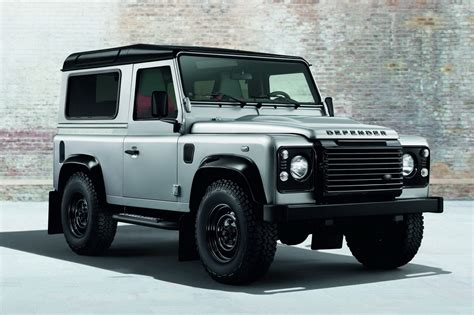 land rover defender 2014 official land rover defender black pack and silver pack