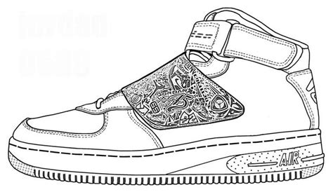 printable coloring pages nike shoes nike stencil coloring pages