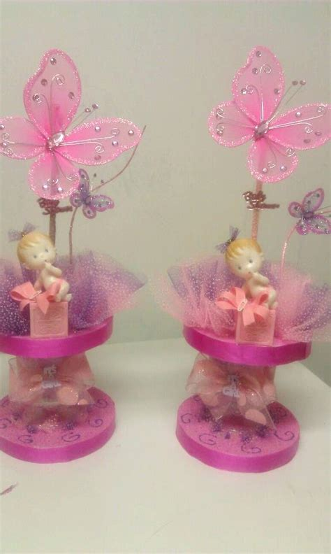 baby shower centerpieces butterfly theme quot girl quot centerpieces