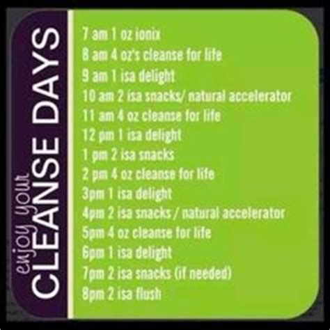 Lifetime Fitness Detox Side Effects by Hourly Cleanse Schedule Isagenix