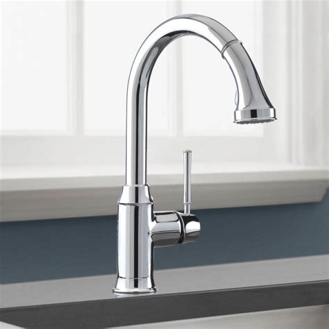 Hansgrohe Metro E High Arc Kitchen Faucet Faucet 04215000 In Chrome By Hansgrohe