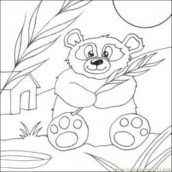 coloring pages panda bear animals gt bear free