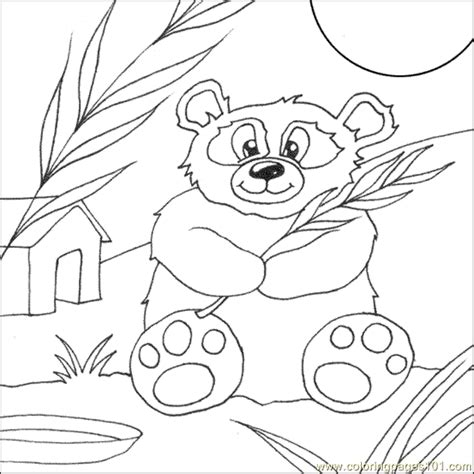 coloring pages panda bear animals gt bear free