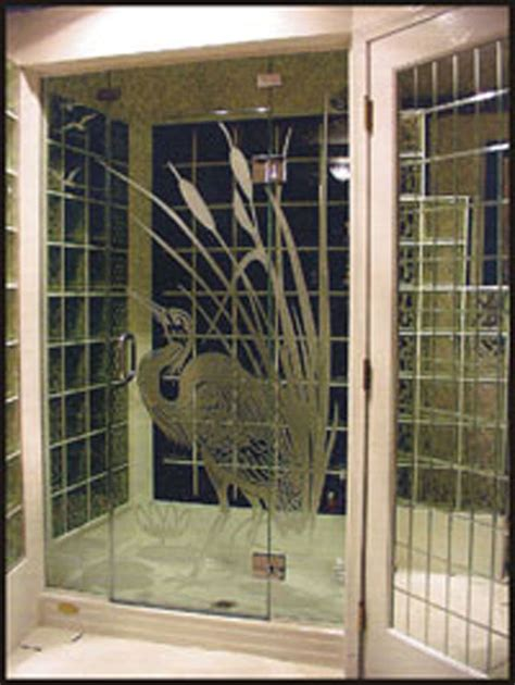 Etched Shower Doors Etched Shower Doors Looking For Etched Glass Tree Design For Our Glass On Our Shower