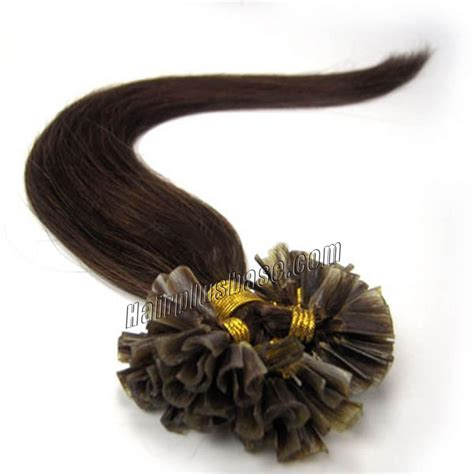 20 inch 4 medium brown 20 inch 4 medium brown stick tip human hair extensions 100s
