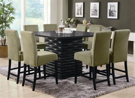 high dining room table granite top counter height dining table sets room high
