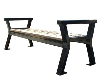 rutherford bench rutherford leaning bench wishbone site furnishings