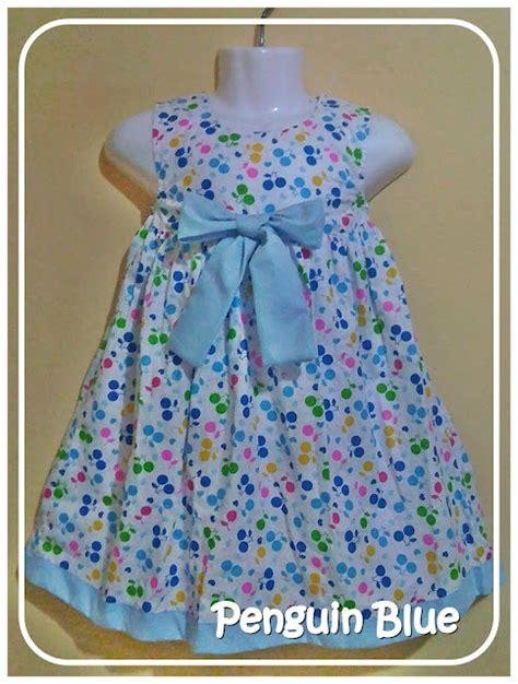 Harga Baju Anak Merk Domino baju anak perempuan penguin blue jual baju anak