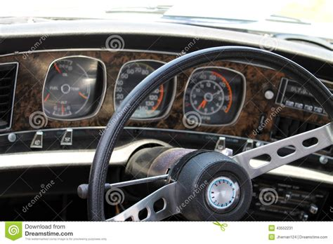 car upholstery ta classic muscle car interior editorial photo image 43552231