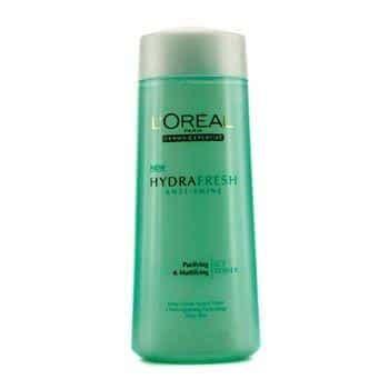 Harga L Oreal Hydrafresh 10 merk toner wajah yang bagus dan recommended