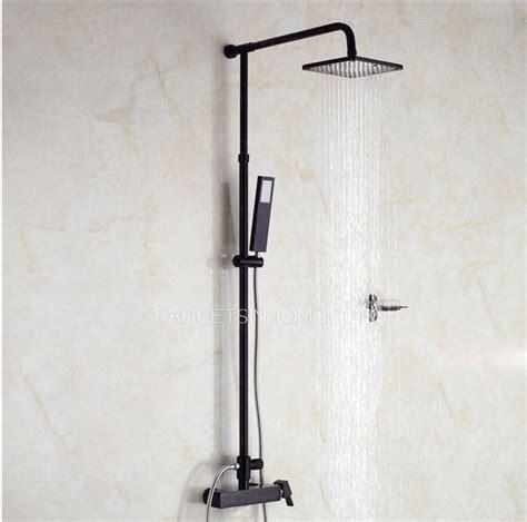 unique black bathroom faucets unique black painting outside shower faucets system
