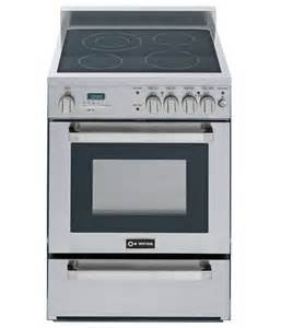 Gas Electric Cooktop 24 Quot Self Cleaning Electric Range Verona Appliances