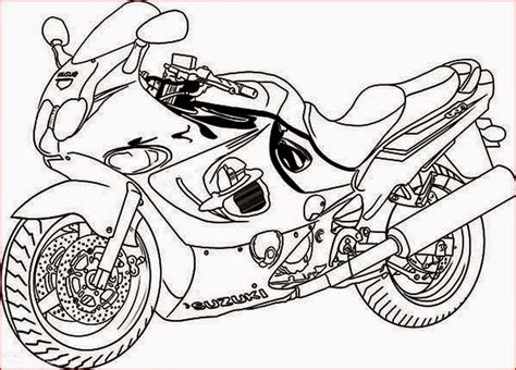 motorcycle coloring pages free printable coloring pages motorcycle coloring pages free and printable