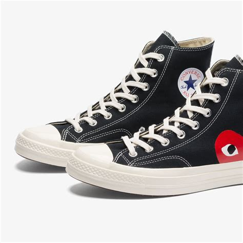 Converse All Ct 70 X Play Cdg by Converse Cdg Play Ct 70 Hi Black White Bows And Arrows