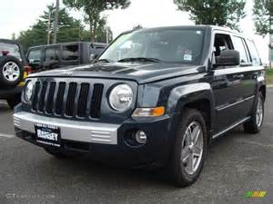 Blue Jeep Patriot 2007 Steel Blue Metallic Jeep Patriot Limited 4x4