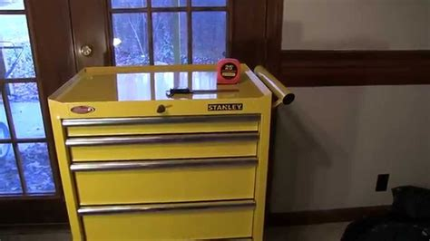 stanley tool chest cabinet stanley 27 inch 5 tool cabinet chest in yellow