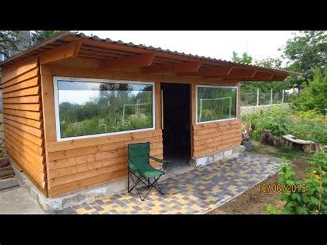 holzhütte garten gartenhaus selber bauen aus holz holzh 252 tte aufbauen