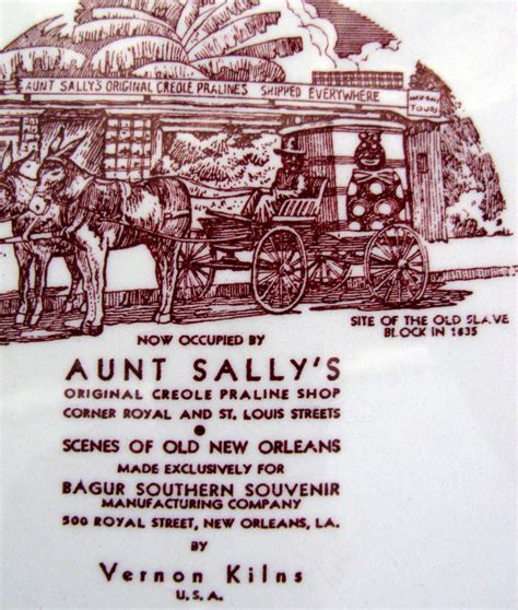 St Sally Maroon I brulator courtyard of new orleans vintage maroon vernon