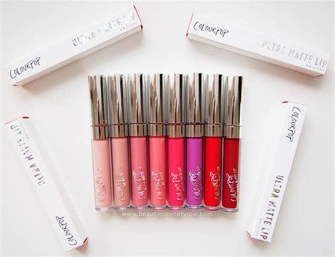 Lipstik Colourpop Colourpop Ultra Matte Lip Point Of View