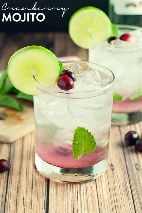 mojito recipe cranberry mojito recipe dishmaps