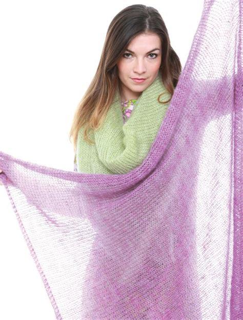 free pattern knit mohair scarf top 15 free shawl knitting patterns
