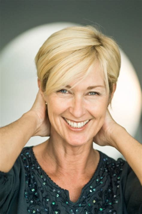short hair styles for senior women with straight and thinning hair short haircuts for older women with fine hair
