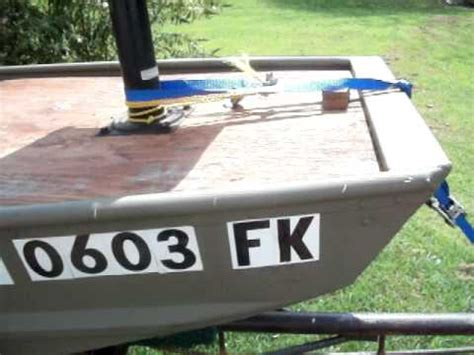 14 ft jon boat modifications 14 ft jon boat modification for sale 1300 youtube